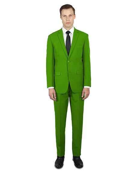 Alberto Nardoni Online Holiday Christmas Outfit  Apple Green ~ Lime