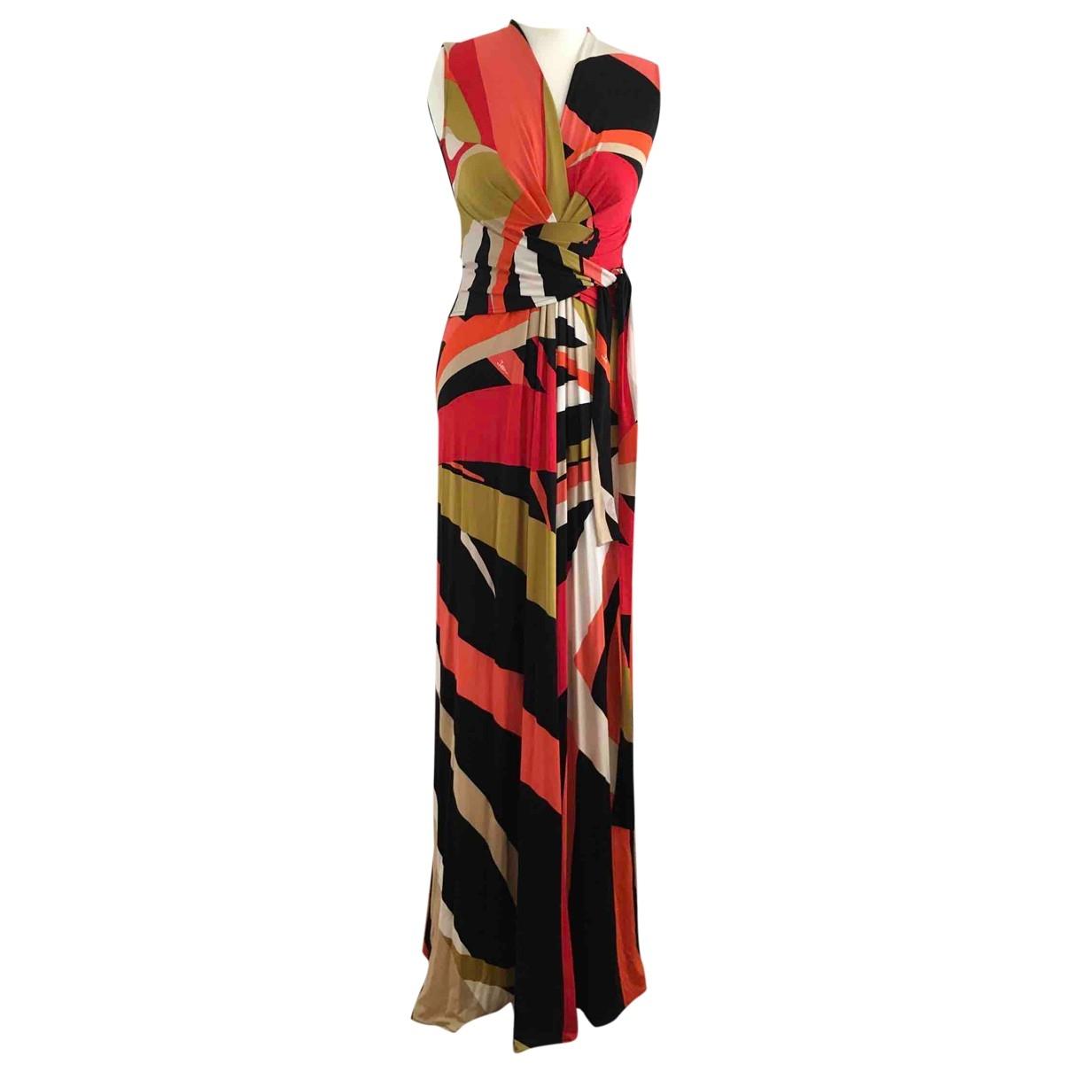 Issa - Robe   pour femme en soie - multicolore