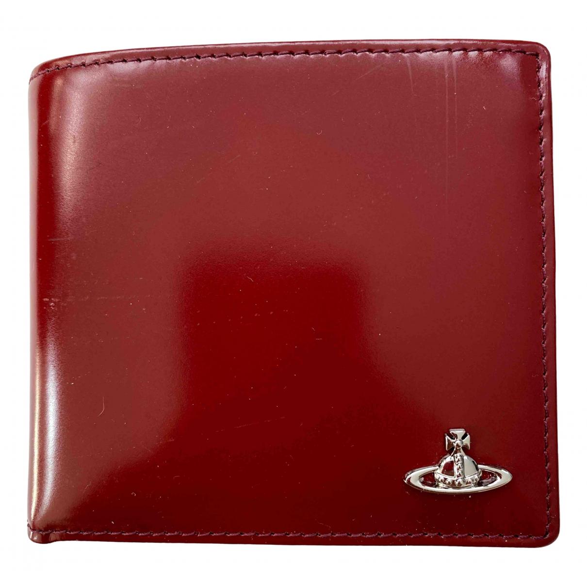 Vivienne Westwood \N Kleinlederwaren in  Rot Leder