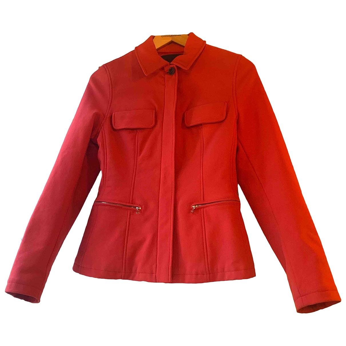 Prada \N Red jacket for Women 42 IT