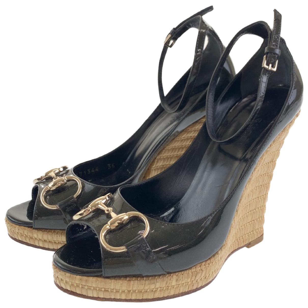 Gucci - Sandales   pour femme en cuir