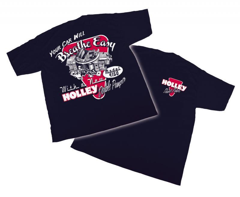 Holley 10010-XXXLHOL T-SHIRT - VINTAGE DOUBLE PUMPER-XXXLG