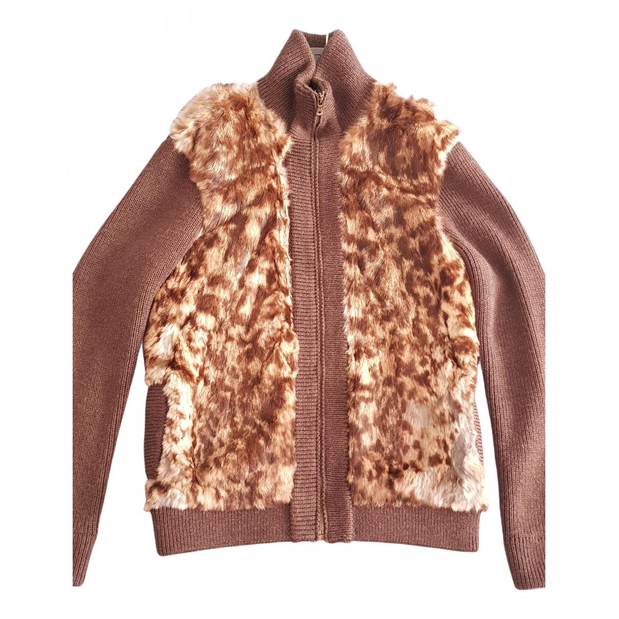 Dolce & Gabbana - Pulls.Gilets.Sweats   pour homme en lapin - marron
