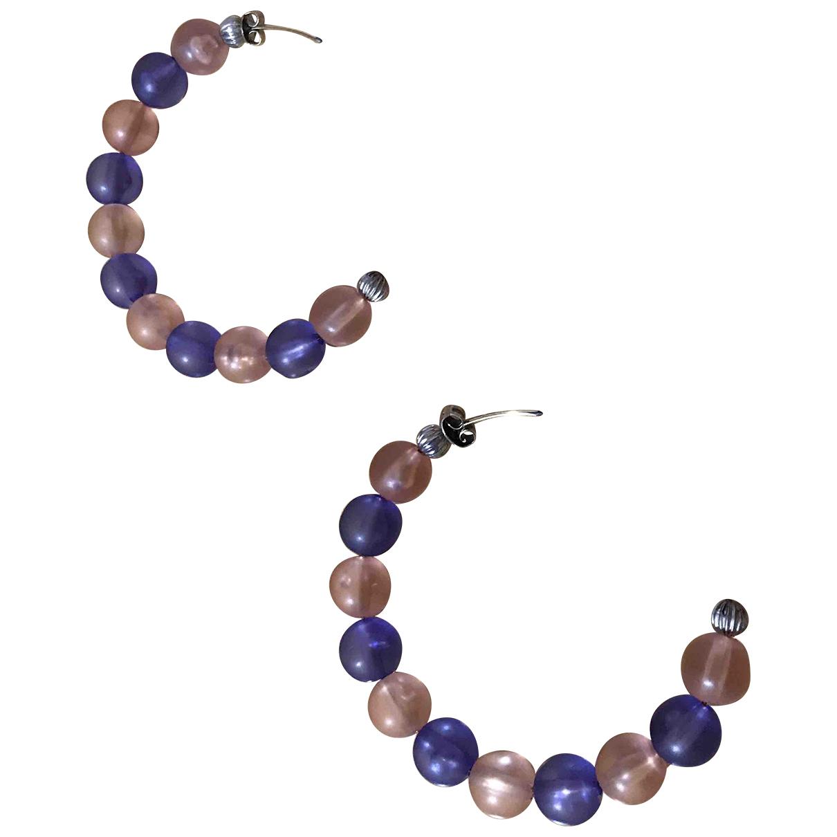 Autre Marque - Boucles doreilles   pour femme en perles - multicolore