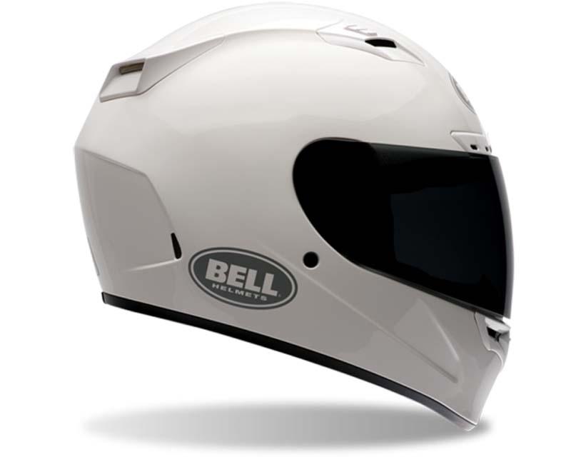 Bell Racing 2017643 Vortex White Solid Helmet 62-63 | 2XL