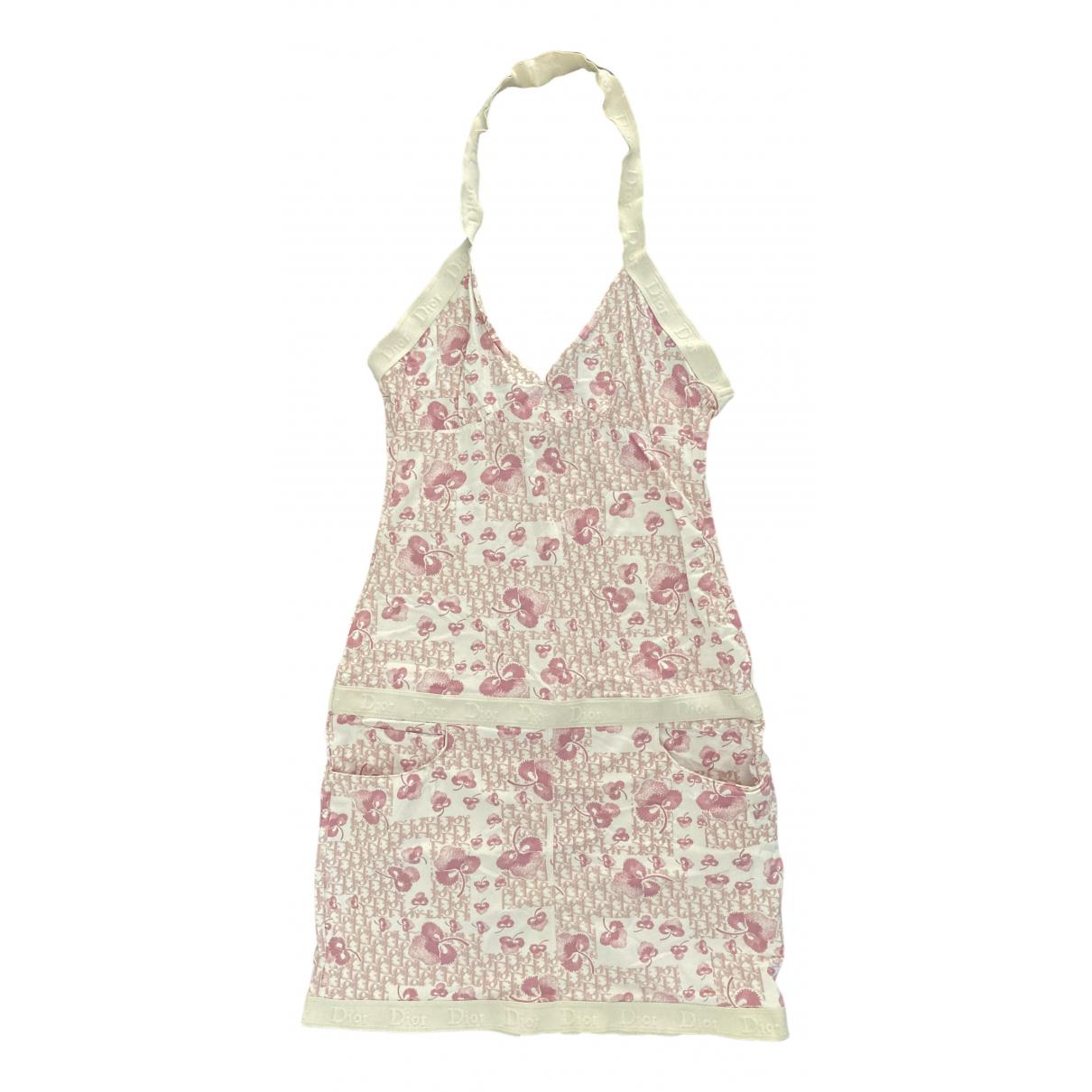 Dior \N Kleid in  Rosa Polyester