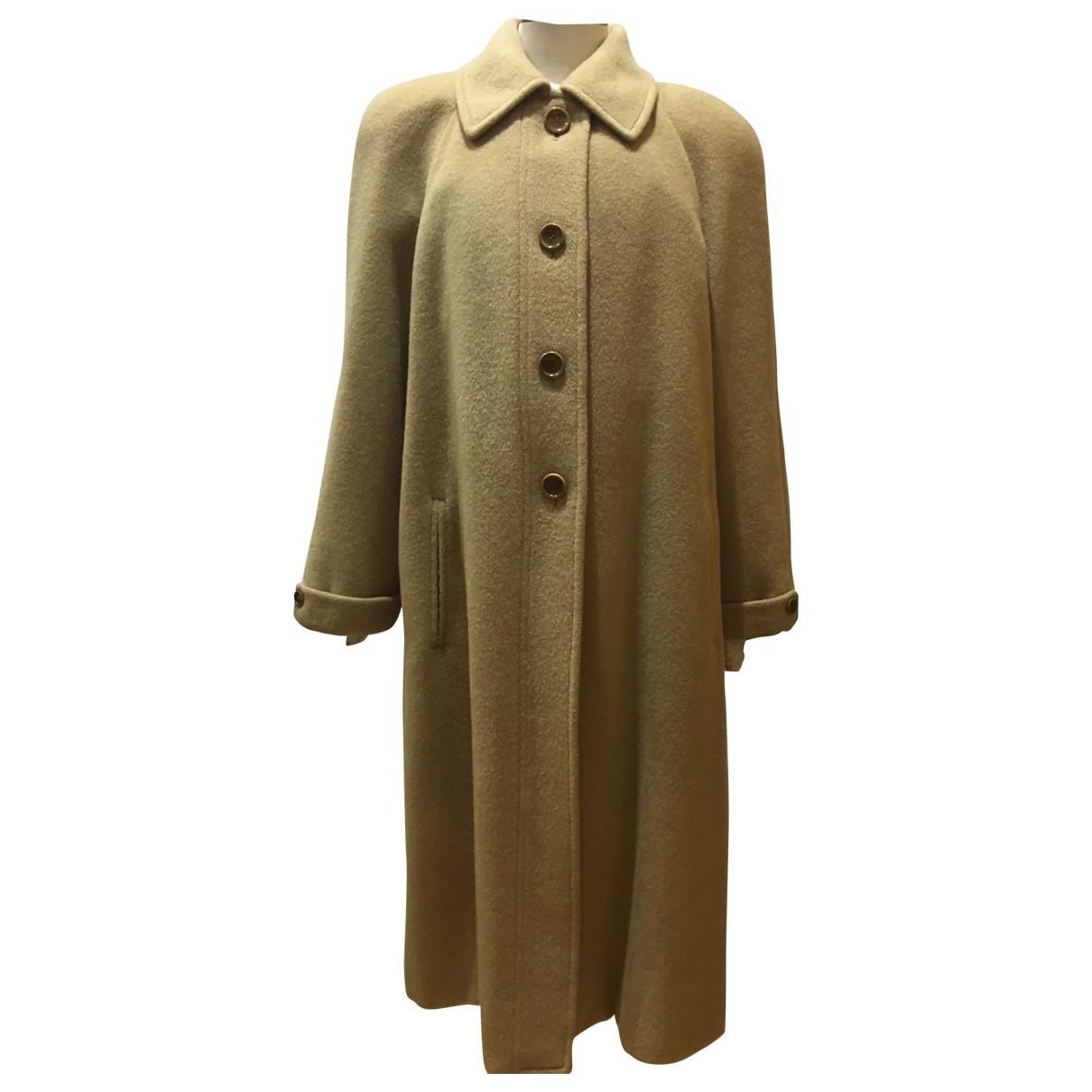Loewe \N Camel Wool coat for Women L International