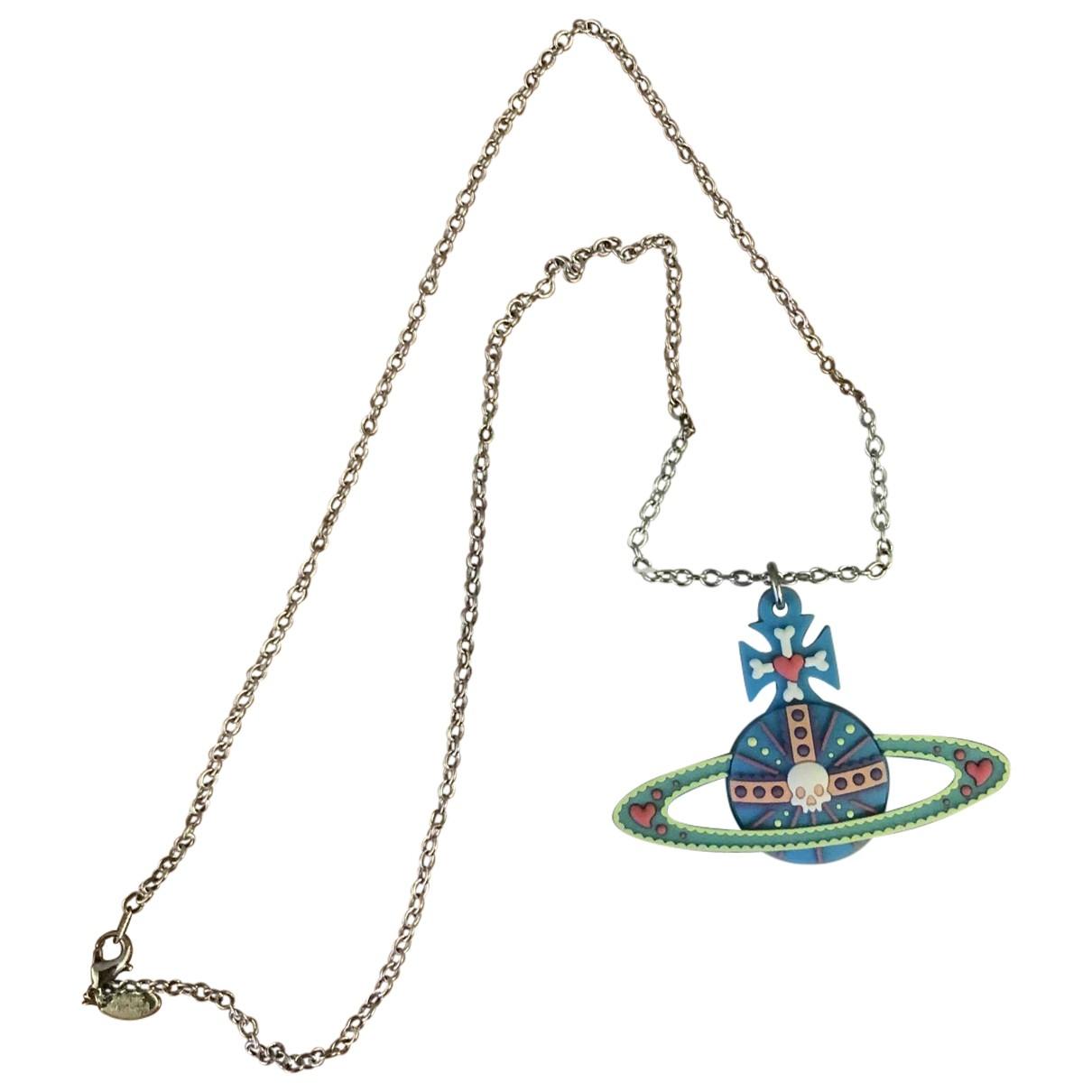 Vivienne Westwood \N Kette in  Blau Metall
