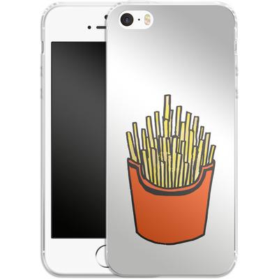 Apple iPhone 5 Silikon Handyhuelle - Fries von caseable Designs