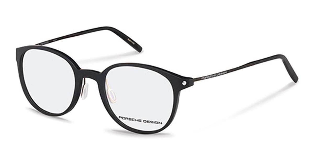 Porsche Design P8335 A Men's Glasses Black Size 50 - Free Lenses - HSA/FSA Insurance - Blue Light Block Available