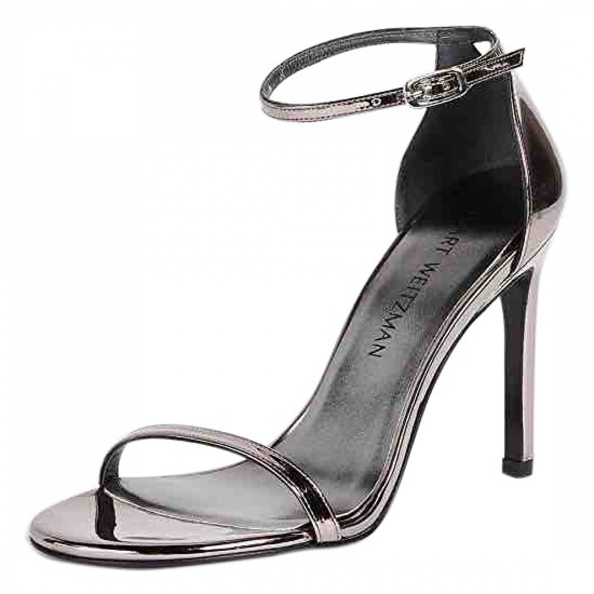 Stuart Weitzman \N Metallic Leather Sandals for Women 11 US