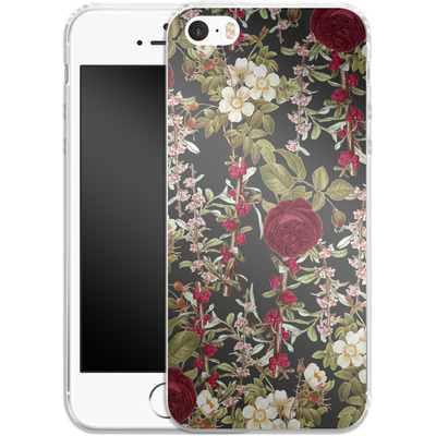 Apple iPhone 5 Silikon Handyhuelle - Floral Explorer von Zala Farah