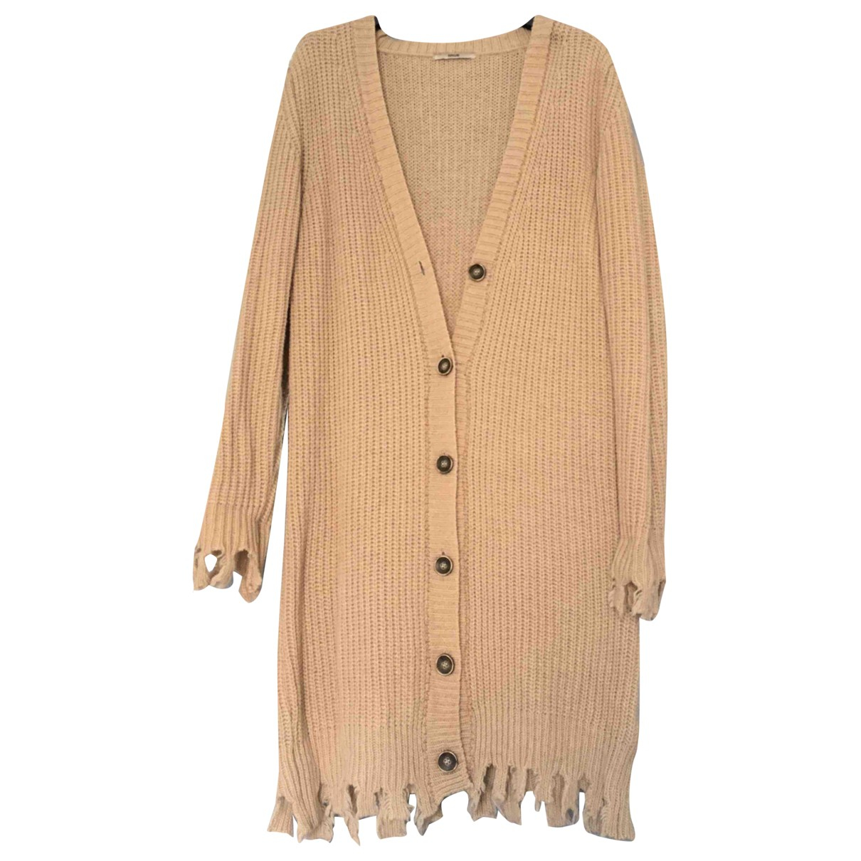 Non Signé / Unsigned \N Beige Wool Knitwear for Women S International