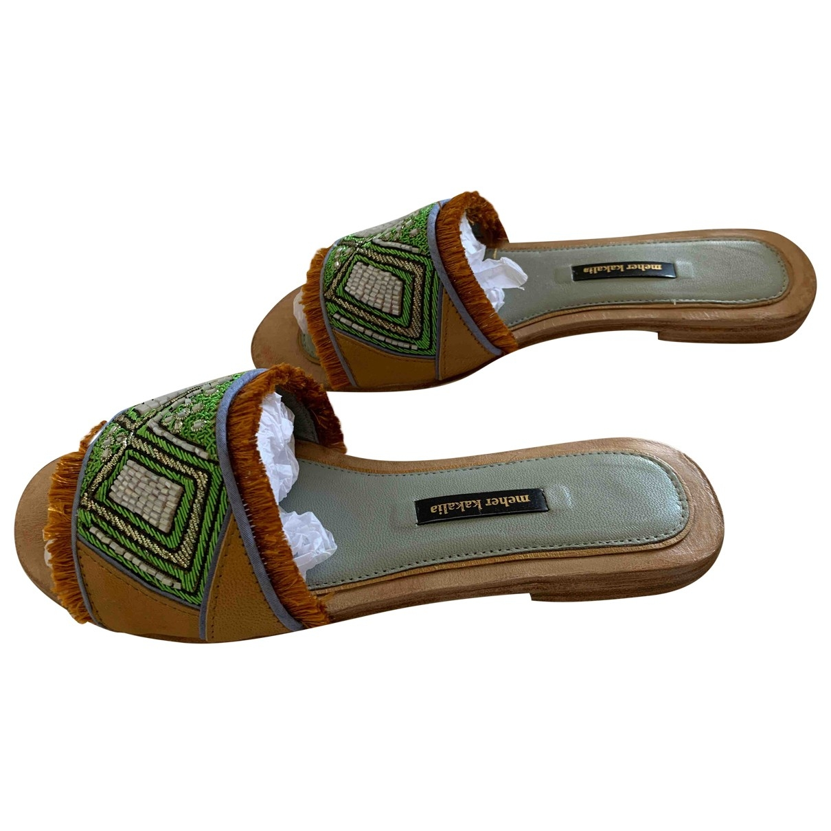 Meher Kakalia \N Leather Sandals for Women 40 EU