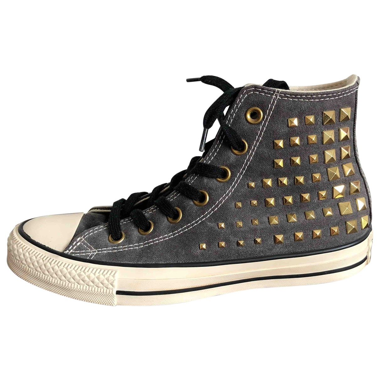 Converse \N Sneakers in  Anthrazit Leinen