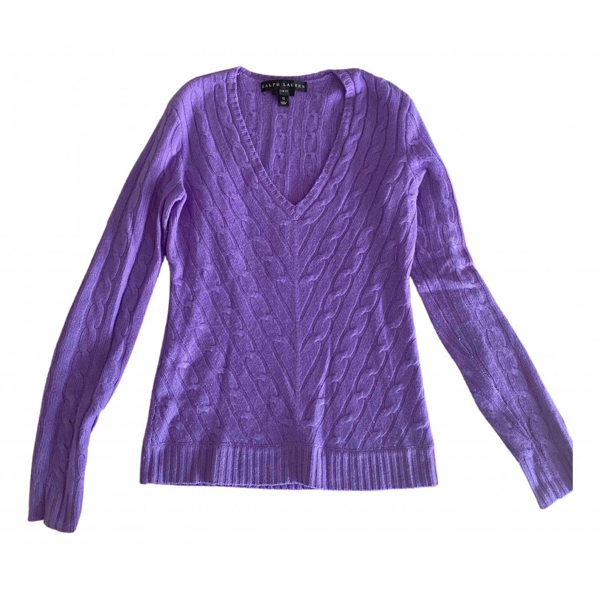 Ralph Lauren \N Purple Cashmere Knitwear for Women XS International