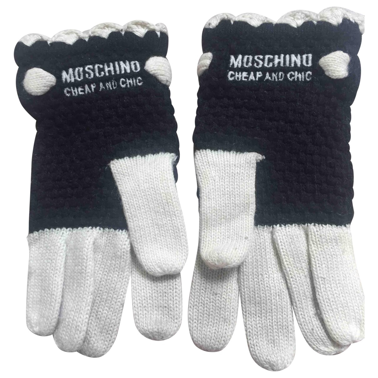 Moschino Cheap And Chic \N Black Wool Gloves for Women S International