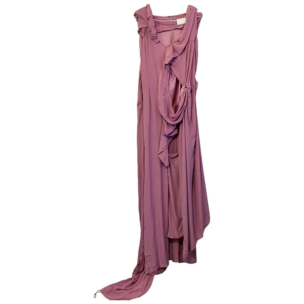 Maxi vestido de Seda Maison Martin Margiela