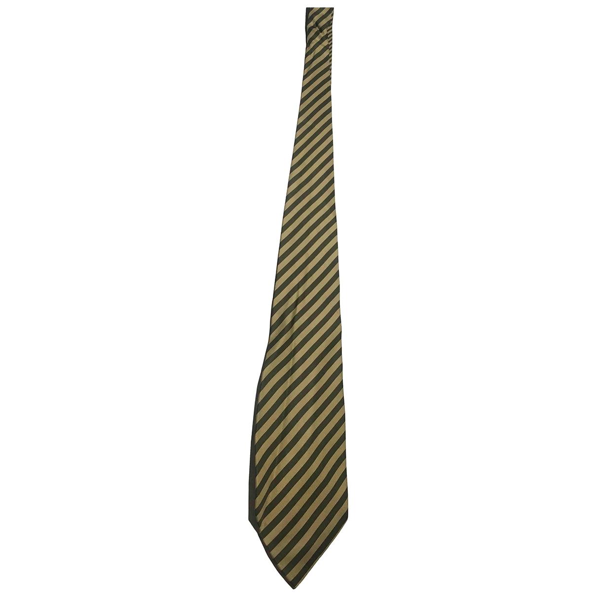 Escada - Cravates   pour homme en soie - vert