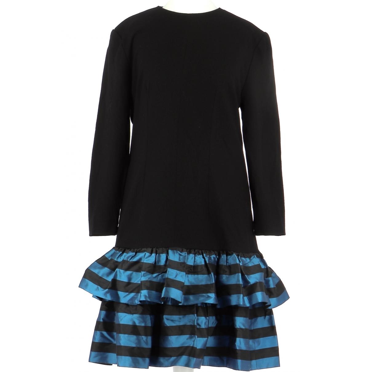 Guy Laroche \N Kleid in  Blau Wolle