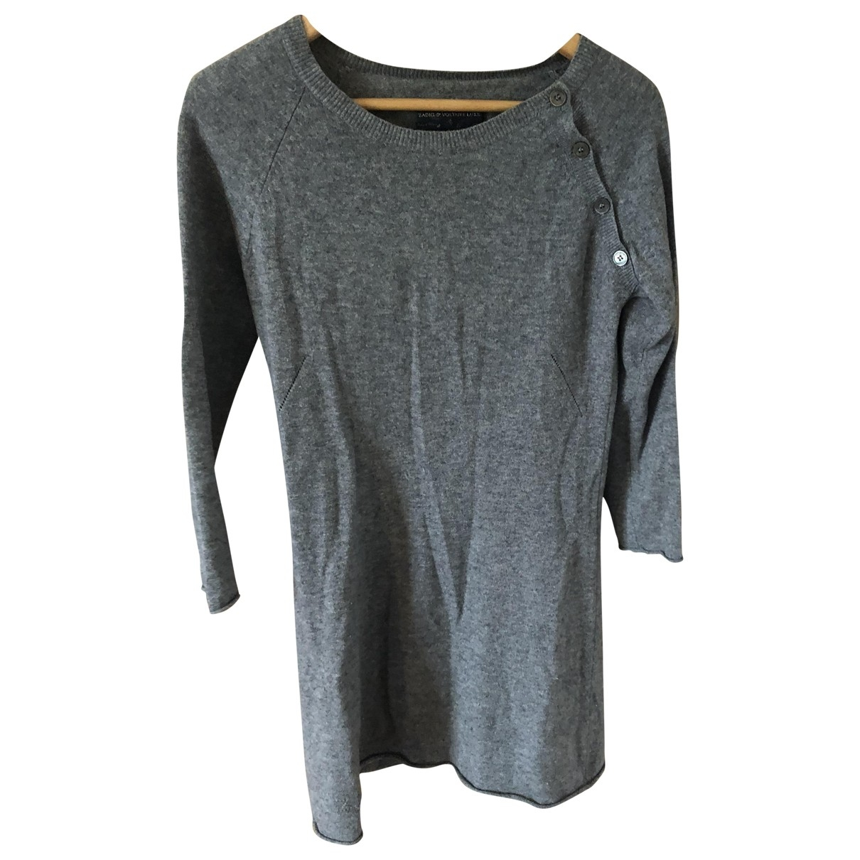 Zadig & Voltaire \N Grey Cashmere Knitwear for Women 8 UK