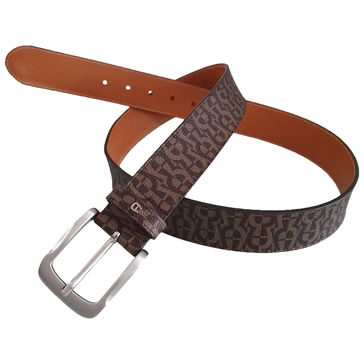 Cinturon de Cuero Aigner
