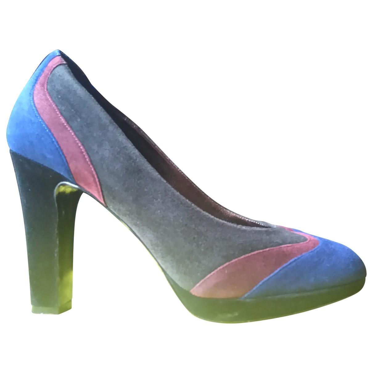 Paul Smith - Escarpins   pour femme en suede - multicolore