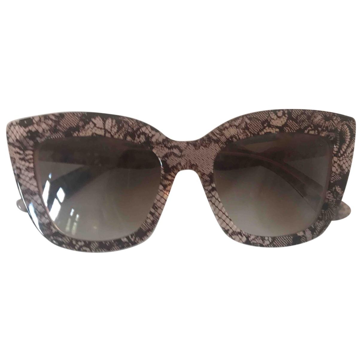 Valentino Garavani \N Sonnenbrillen in  Rosa Kunststoff