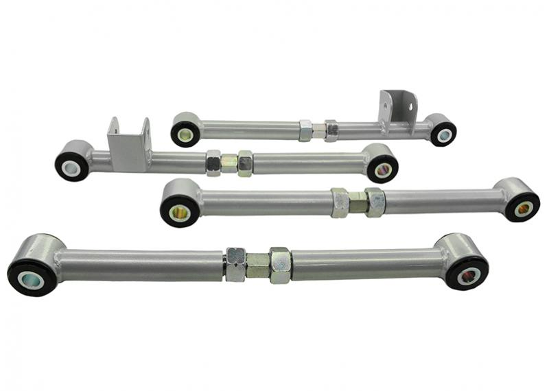 Whiteline KTA108 REAR CONTROL ARM - COMPLETE LOWER FRONT & REAR ARM ASSEMBLY (CAMBER/TOE CORRECTI Rear