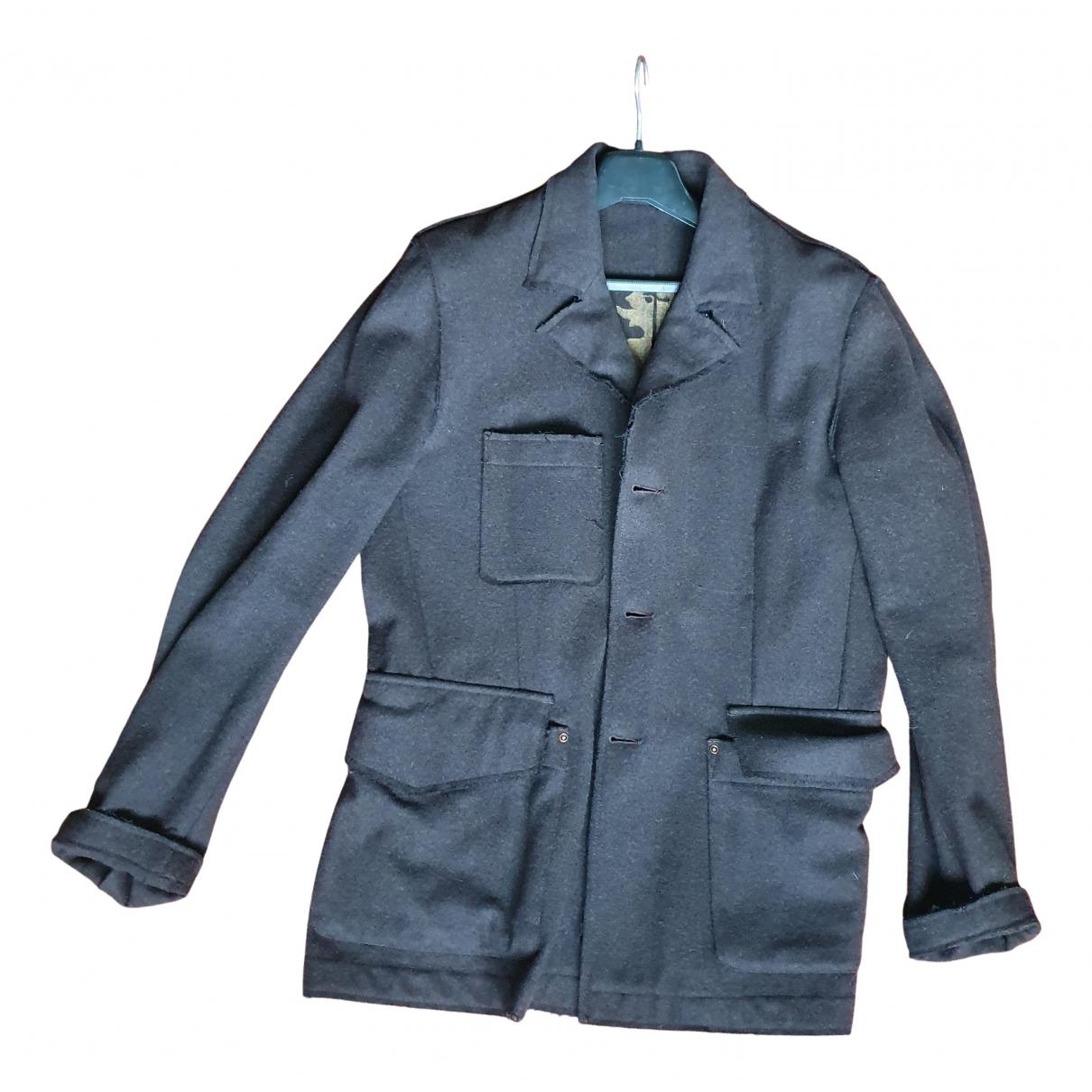 Mauro Grifoni N Brown Wool jacket  for Men 50 IT