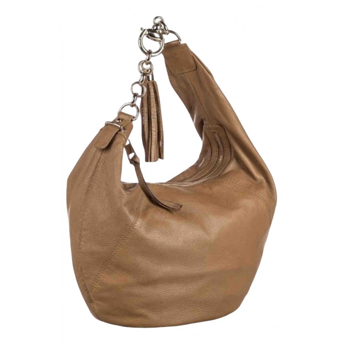 Gucci Hobo Camel Leather handbag for Women N