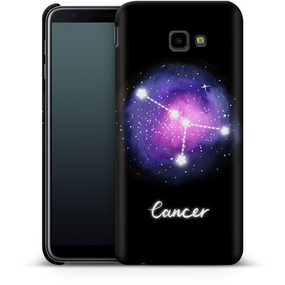 Samsung Galaxy J4 Plus Smartphone Huelle - CANCER von Becky Starsmore