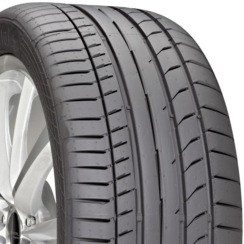 Continental 03562060000 Sport Contact 5P Tire 255/40 R20 101YxL BSW N0