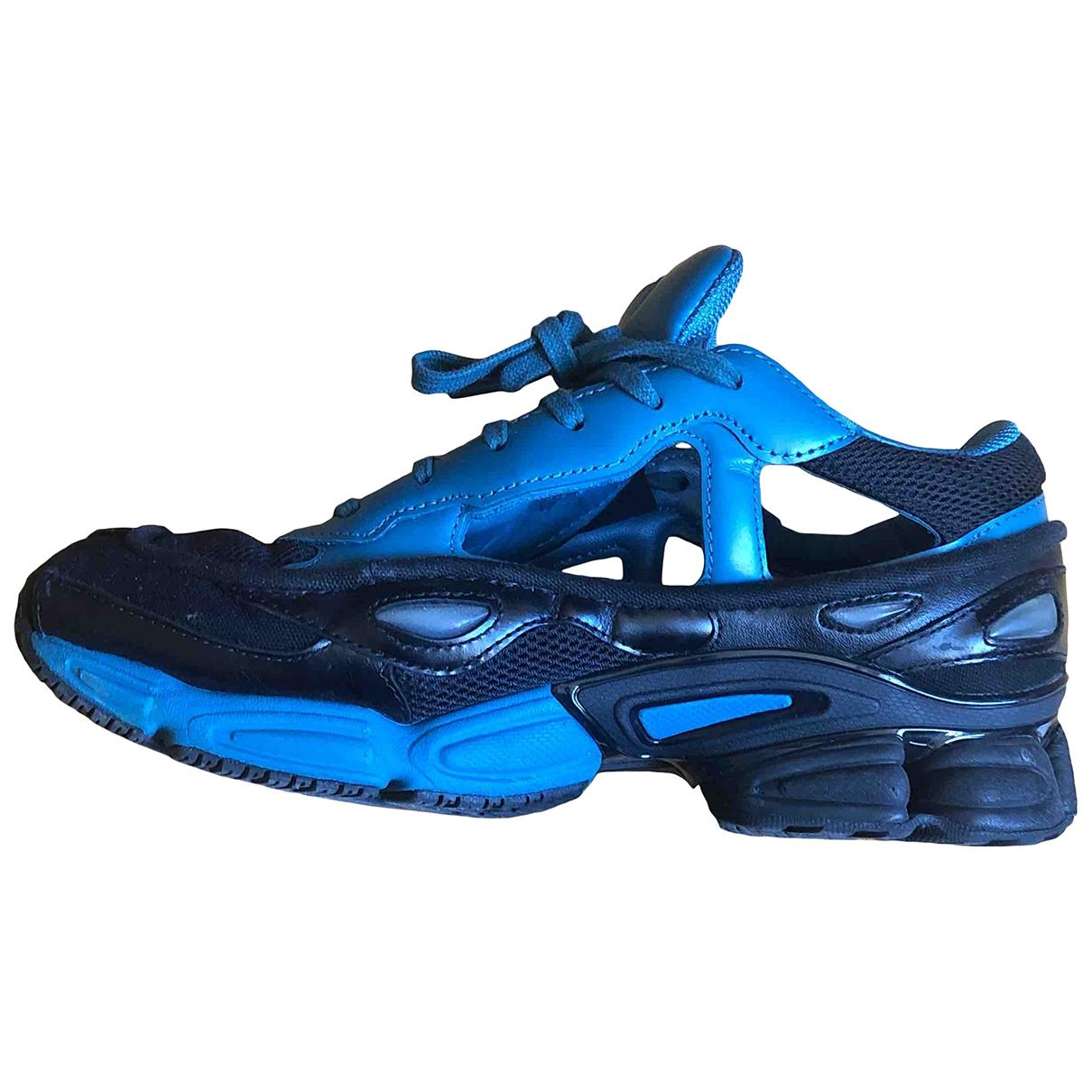 Adidas X Raf Simons - Baskets RS Ozweego pour homme en cuir - bleu