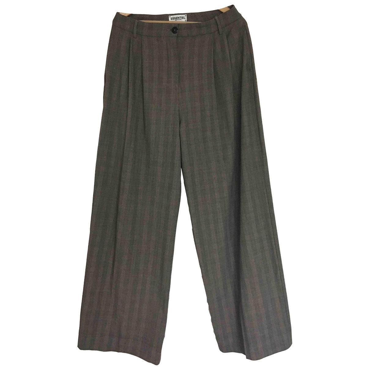 Essentiel Antwerp - Pantalon   pour femme - gris