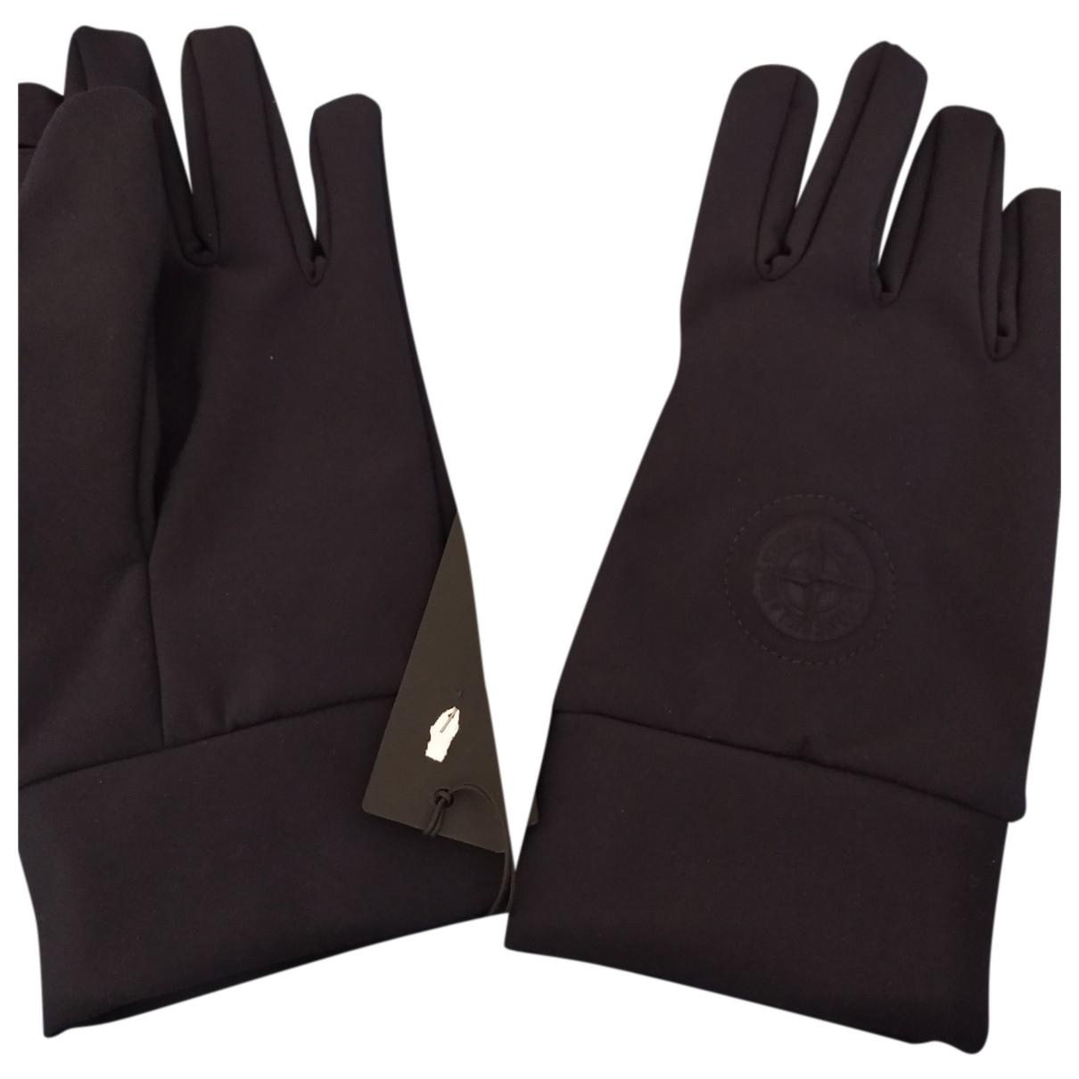 Stone Island N Blue Gloves for Men XL International