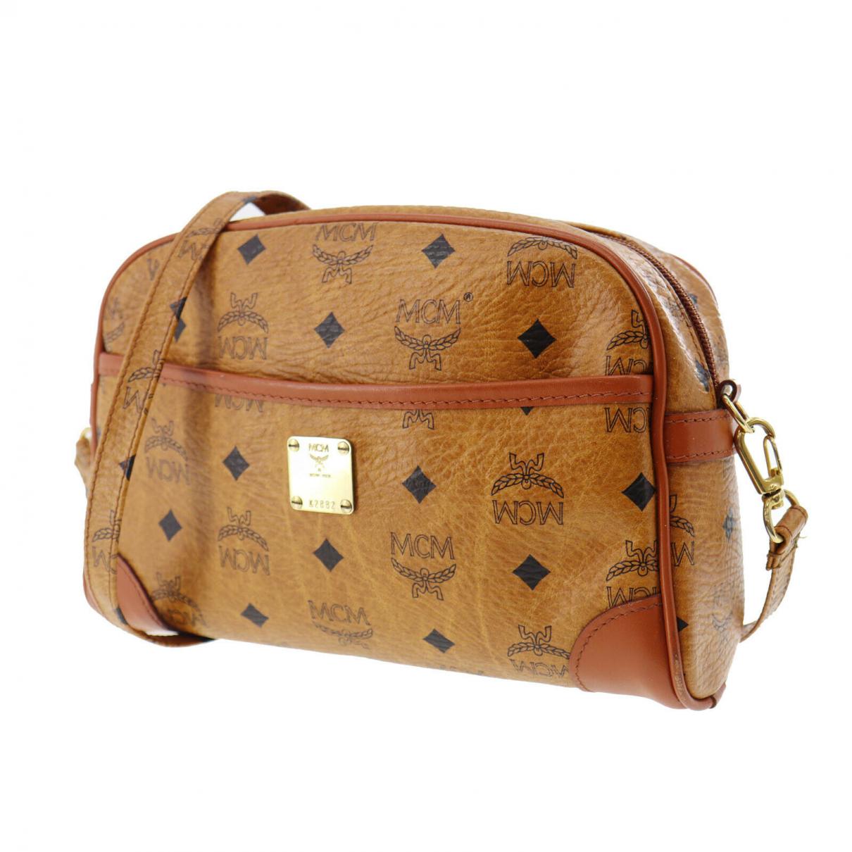 Mcm \N Handtasche in Leder