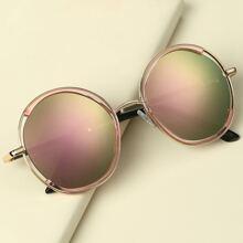 Gafas de sol de niñitos de lentes gradientes
