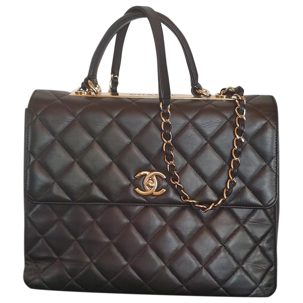Bolso  Trendy CC de Cuero Chanel