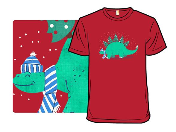 Christmasaurus T Shirt
