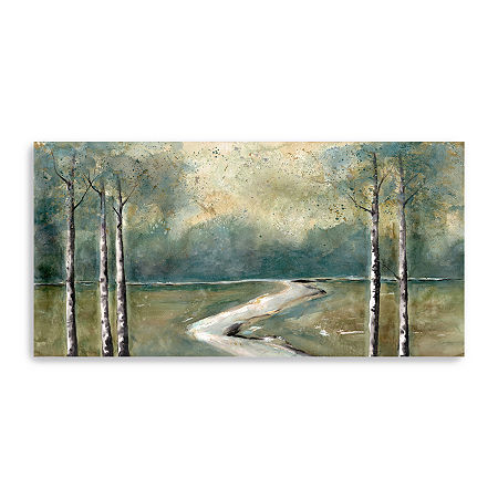 Green Landscape Canvas Art, One Size , Multiple Colors
