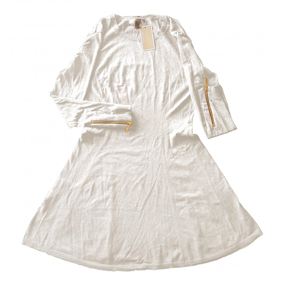 Michael Kors N Ecru Cotton - elasthane dress for Women L International
