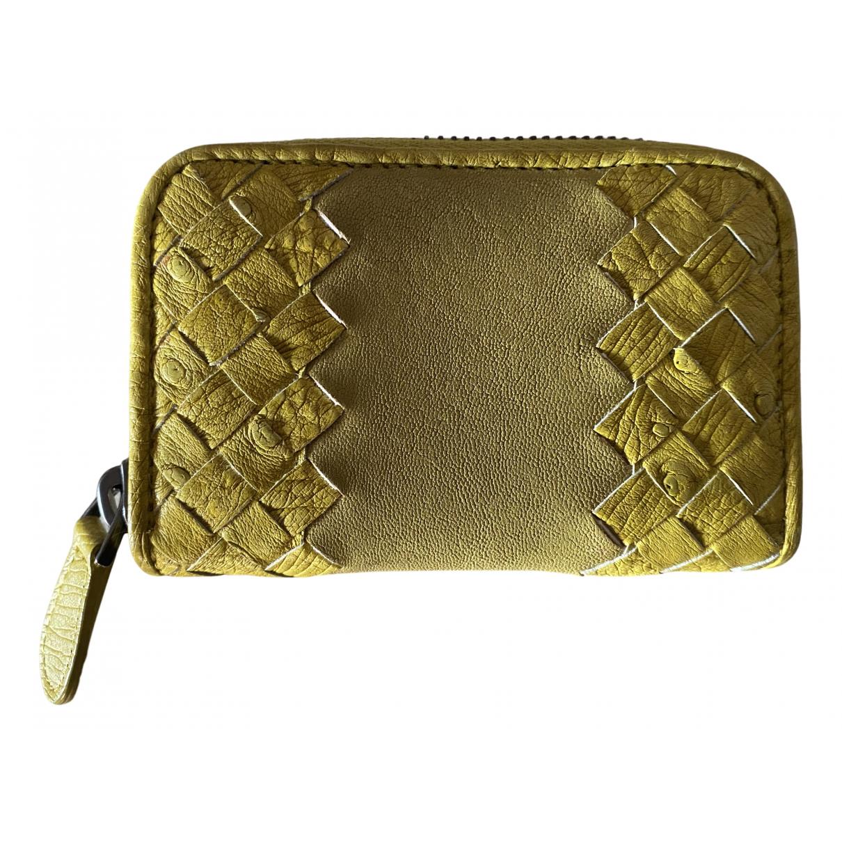 Bottega Veneta - Portefeuille Intrecciato pour femme en cuir