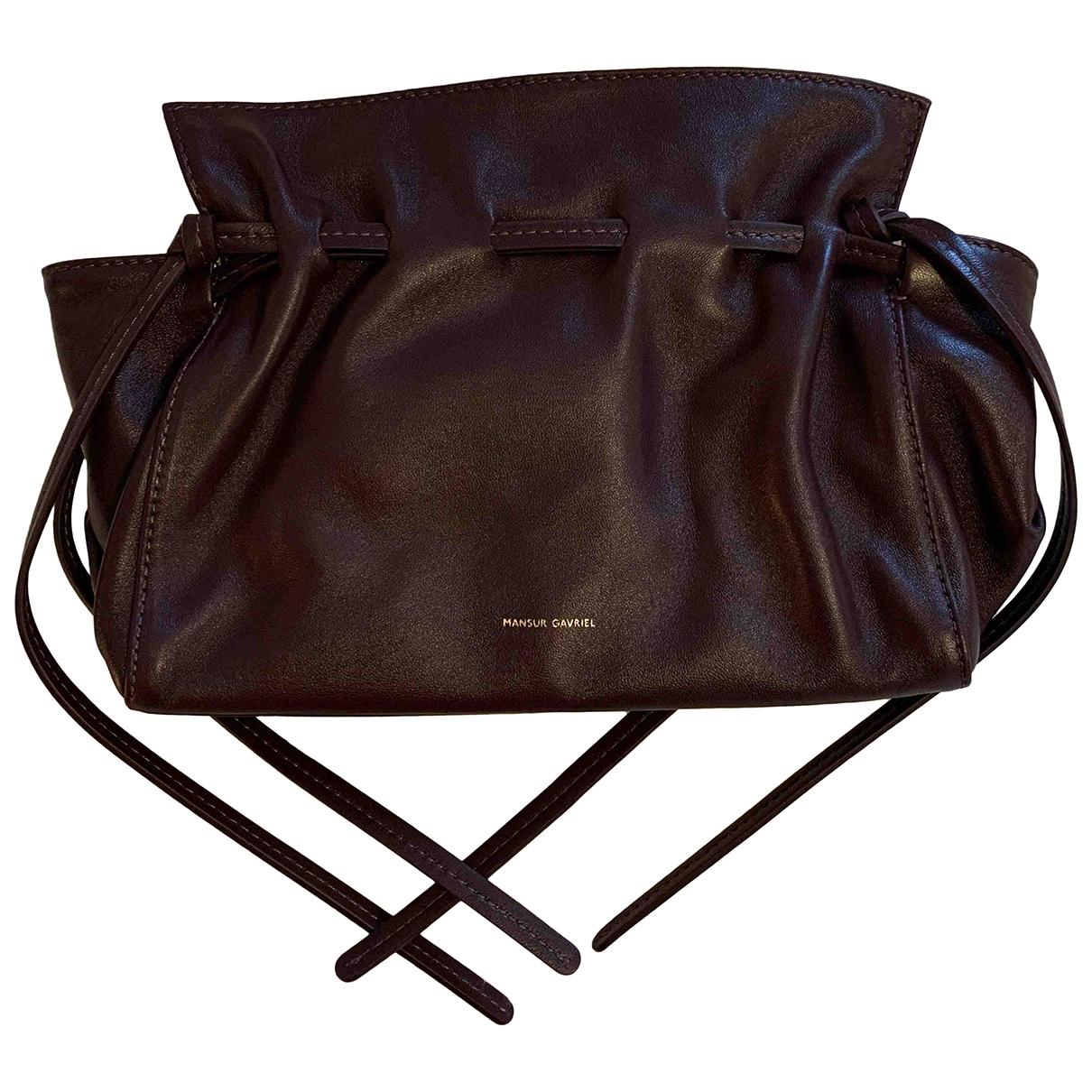 Mansur Gavriel \N Leather handbag for Women \N