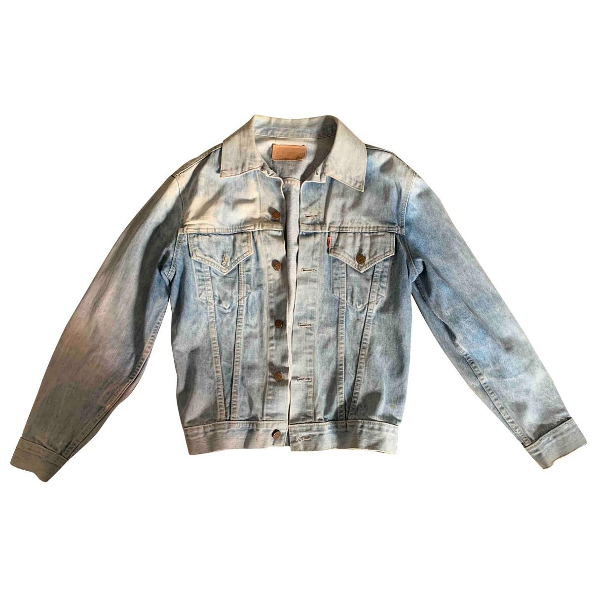 Levis Vintage Clothing \N Jacke in  Blau Denim - Jeans
