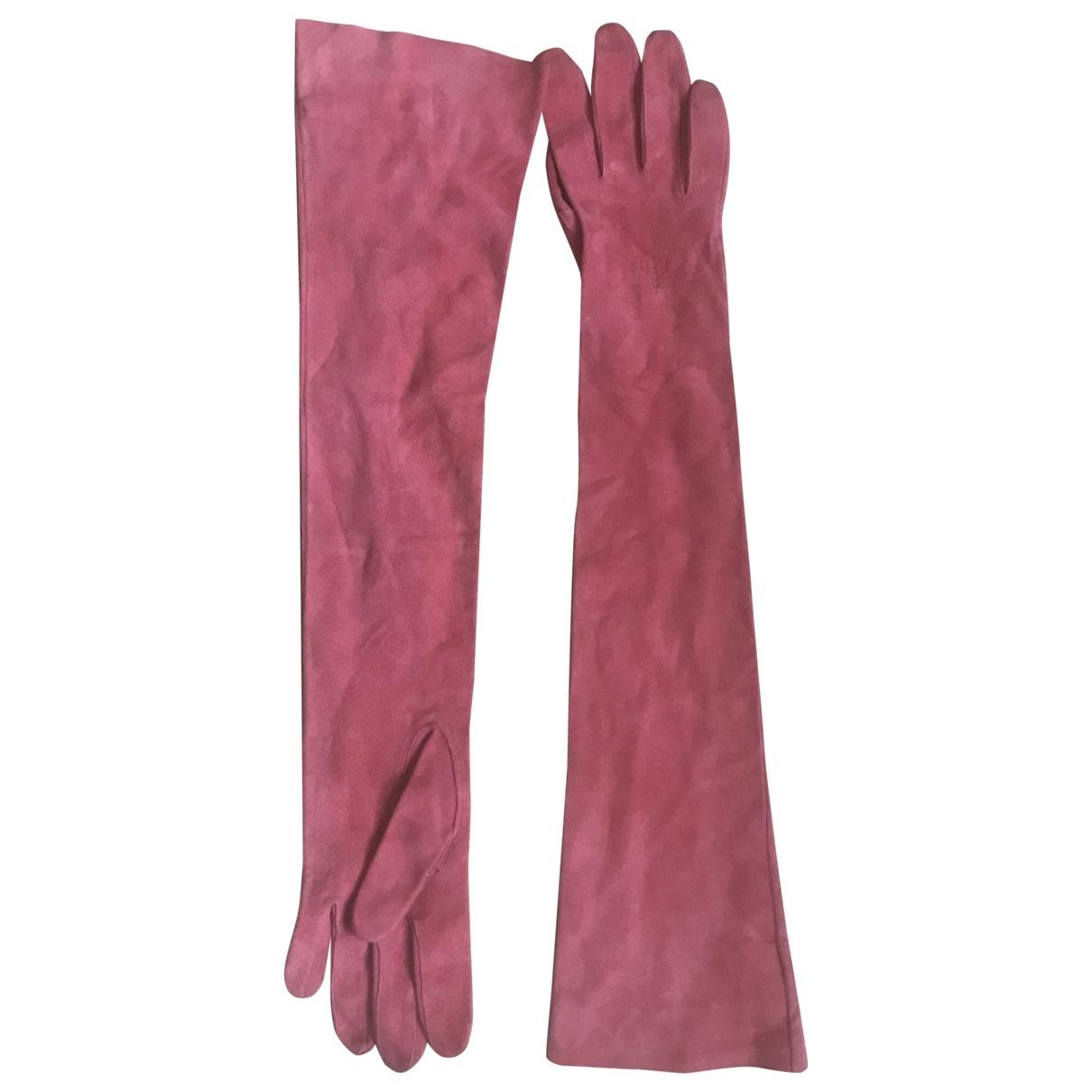Dsquared2 \N Handschuhe in Veloursleder