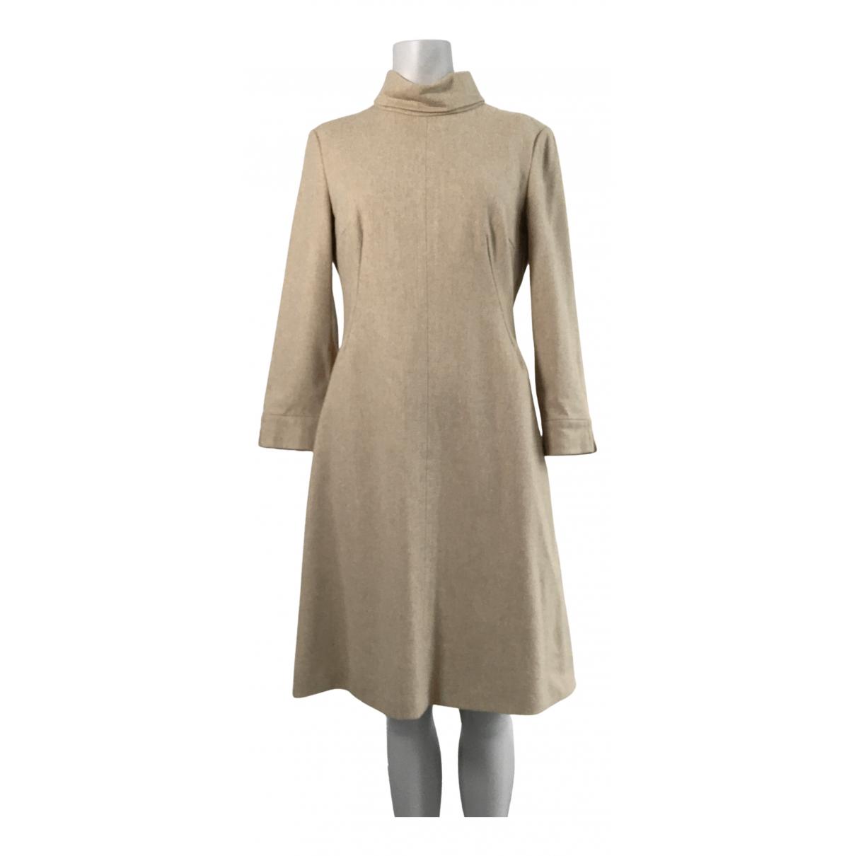Strenesse \N Kleid in  Beige Wolle