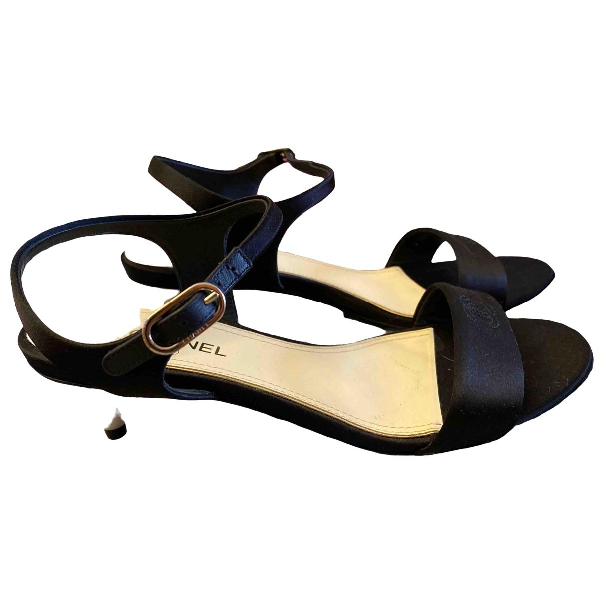 Sandalias romanas de Lona Chanel