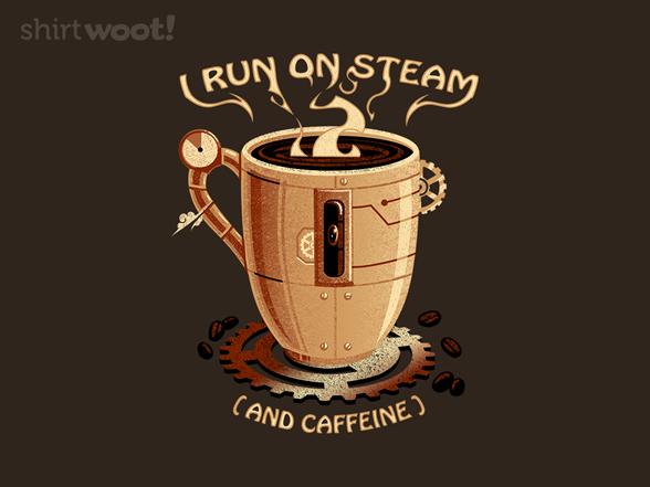 Steam Cup T Shirt