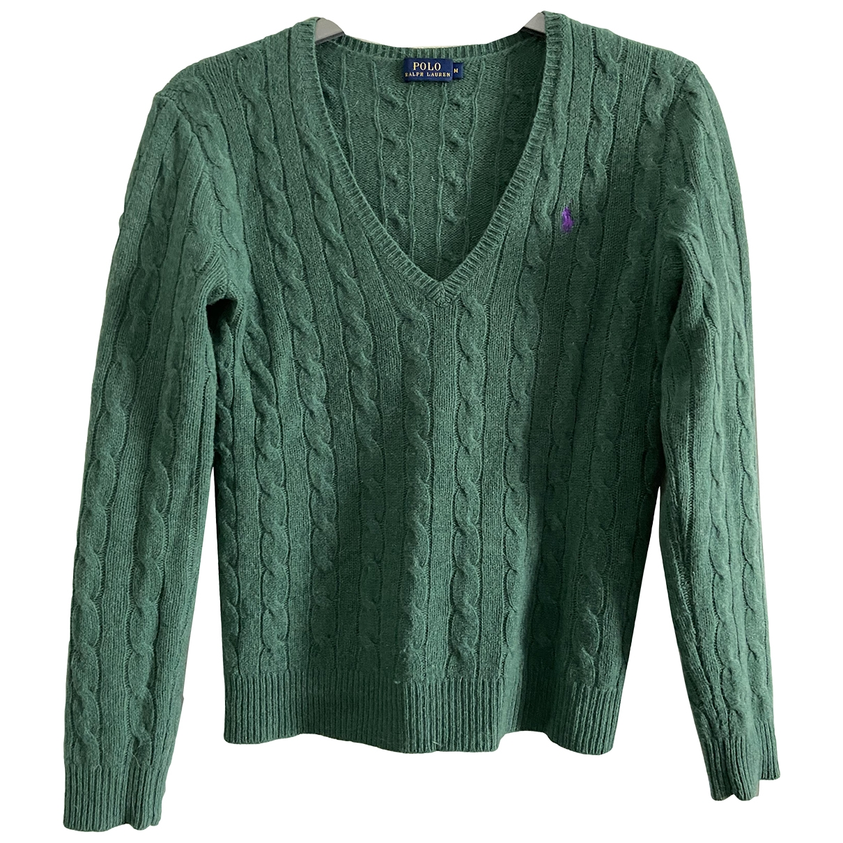 Polo Ralph Lauren \N Green Wool Knitwear for Women M International